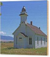 Mcallister Church Wood Print