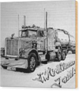 Mccallum Trucking Wood Print