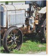 Mccormick-deering 10-20 Tractor Wood Print