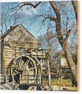 Mccormicks Farm Wood Print