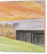 Mccready Farm Wood Print