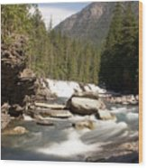 Mcdonald Creek 2 Wood Print