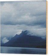 Mcdonald Lake Glacier Wood Print