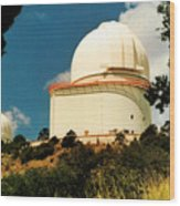 Mcdonald Observatory At Mt. Locke Wood Print