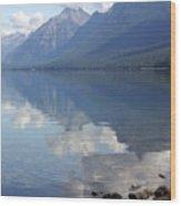Mcdonald Reflection Wood Print