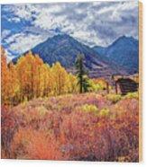Mcgee Creek Majesty Wood Print