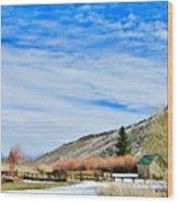 Mcgee Creek Pack Station Wood Print