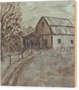 Mcginnis Barn Wood Print