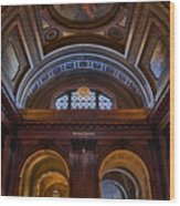 Mcgraw Rotunda Nypl Wood Print