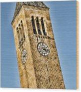 Mcgraw Tower Wood Print