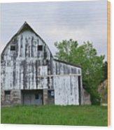Mcgregor Iowa Barn Wood Print