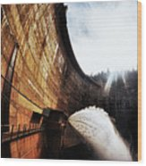 Mckays Dam Waterjet Wood Print