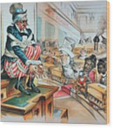 Mckinley Tariff Act, 1894 Wood Print