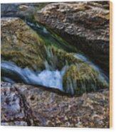 Mckinney Falls State Park-lower Falls 4 Wood Print