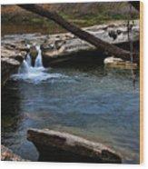 Mckinney Falls State Park-upper Falls 6 Wood Print