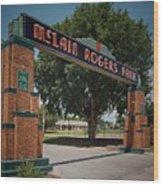 Mclain Rogers Entrance Wood Print