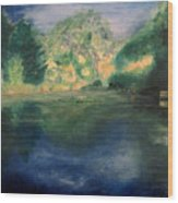 Mclane Reflections Wood Print