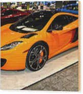 Mclaren 12c Coupe Wood Print