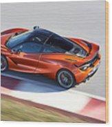 Mclaren 720s Coupe 2017 3 Wood Print