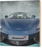 Mclaren Sports Car Wood Print