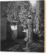 Mclaughlin Gate Wood Print