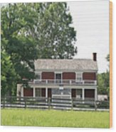 Mclean House Appomattox Court House Virginia Wood Print