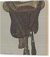 Mclellan Saddle Wood Print