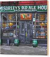 Mcsorley's  In Color Wood Print