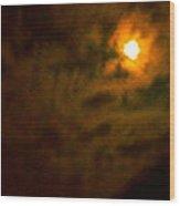 Mead Moon Wood Print