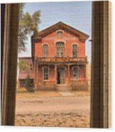 Meade Hotel Framed Wood Print