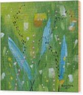 Meadow Musing Wood Print