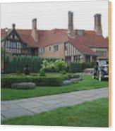 Meadowbrook Hall Wood Print