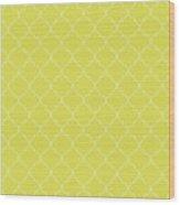 Meadowlark Quatrefoil Wood Print