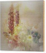 Meadowsweet Wood Print