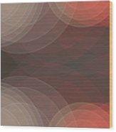 Mechanic Semi Circle Background Horizontal Wood Print