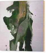 Mechanical Don Quixote Going Other Way Wood Print