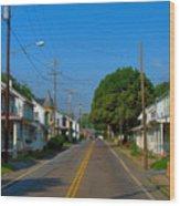 Mechanicsburg Pa Wood Print