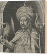 Mechti Kuli Beg Persian Ambassador To Prague Wood Print