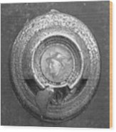 Mecury Emblem Wood Print
