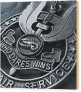 Medal Wood Print