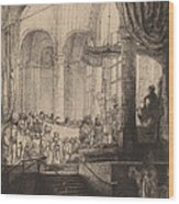 Medea, Or The Marriage Of Jason And Creusa Wood Print