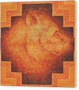 Medicine Bear Wood Print
