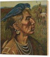 Medicine Crow Indian Wood Print