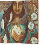 Medicine Woman Wood Print