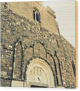 Medieval Abbey - Fossacesia - Italy 5 Wood Print