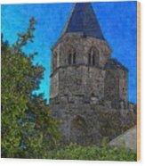 Medieval Bell Tower 1 Wood Print