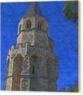 Medieval Bell Tower 2 Wood Print