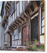 Medieval British Architecture - Dick Turpin's Cottage Thaxted Wood Print