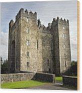 Medieval Bunraty Castle Ireland Wood Print