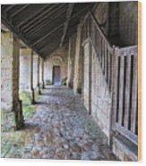 Medieval Church Entrance Wood Print